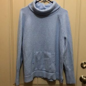 Baby Blue Loft Turtleneck Sweater (SZ XL)